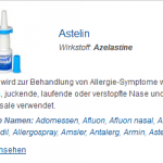 Astelin 10 ml (Azelastine)