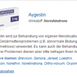 Aygestin 5 mg (Norethindrone)