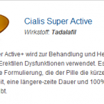 Cialis Super Active 20 mg (Tadalafil)