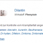 Dilantin 100 mg (Phenytoin)