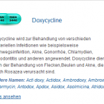 Doxycycline 100 mg (Doxycycline)