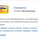 Dramamine 50 mg (Dimenhydrinate)