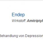 Endep 25 mg (Amitriptyline)