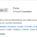 Eurax 20 gm (Crotamiton)