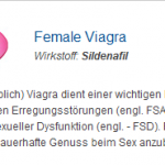 Female Viagra 100 mg (Sildenafil)