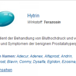 Hytrin 5 mg (Terazosin)