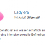 Lady era 100 mg (Sildenafil)