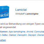 Lamictal 50 mg (Lamotrigine)