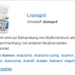 Lisinopril 2.5 mg (Lisinopril)