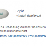 Lopid 300 mg (Gemfibrozil)