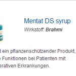 Mentat DS syrup 100 ml (Brahmi)