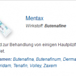 Mentax 15 mg (Butenafine)