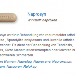 Naprosyn 500 mg (Naproxen)