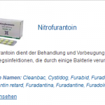 Nitrofurantoin 50 mg (Other names: )