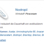 Nootropil 800 mg (Piracetam)