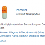 Pamelor 25 mg (Nortriptyline)