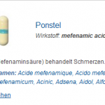 Ponstel 250 mg (Mefenamic acid)