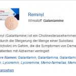 Reminyl 8 mg (Galantamine)