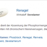 Renagel 400 mg (Sevelamer)