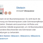 Skelaxin 400 mg (Metaxalone)