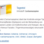 Tegretol 200 mg (Carbamazepine)