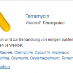 Terramycin 250 mg (Tetracycline)