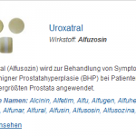 Uroxatral 10 mg (Alfuzosin)