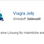 Viagra Jelly 100 mg (Sildenafil)