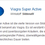 Viagra Super Active 25 mg (Sildenafil)