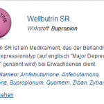 Wellbutrin SR 150 mg (Bupropion)