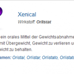 Xenical 120 mg (Orlistat)
