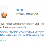 Zocor 40 mg (Simvastatin)