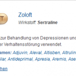 Zoloft 100 mg (Sertraline)